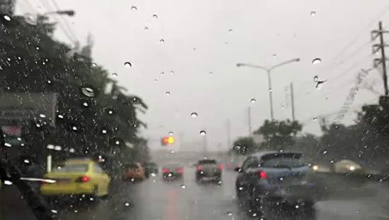 Предупреждение о дождях в Таиланде