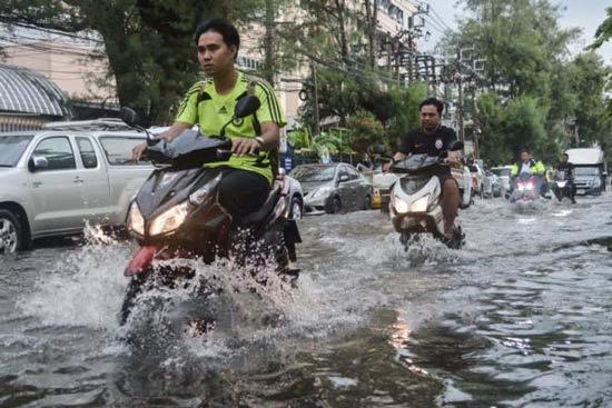 Дожди в Бангкоке