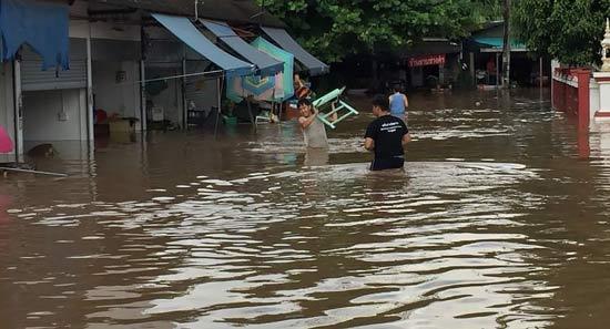наводнение Таиланд