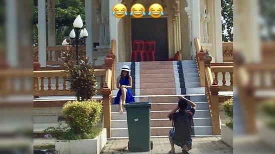 Китайские туристы попали в просак